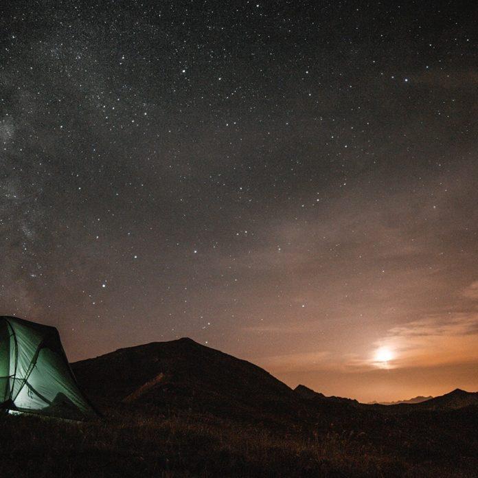 wild camping scotland black mount stob ghabhar 1600