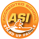 ASI Accredited School - Stand Up Paddle