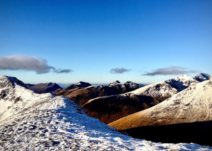 winter mountaineering in Glen Coe