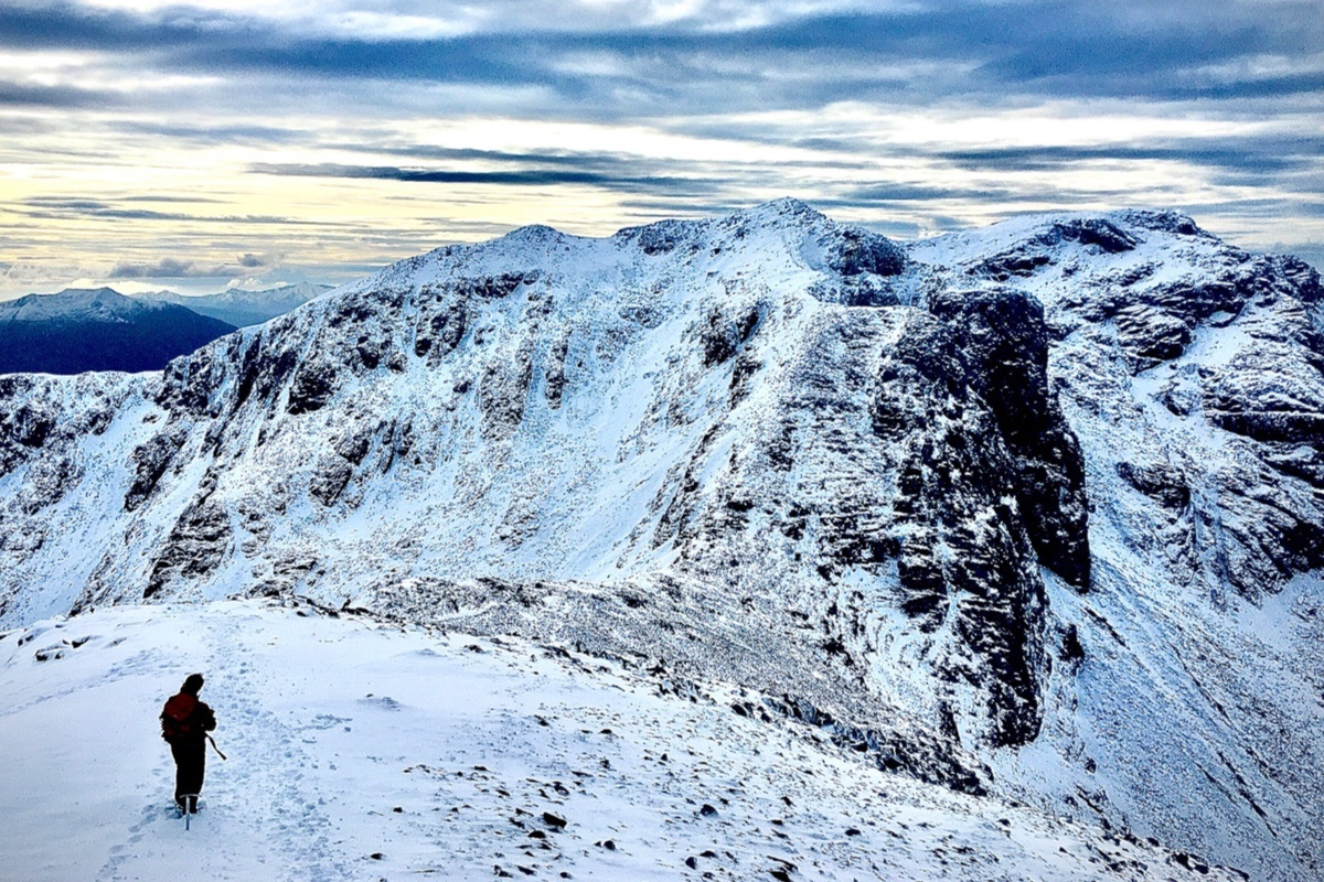 winter on Bidean nam Bian Glen Coe