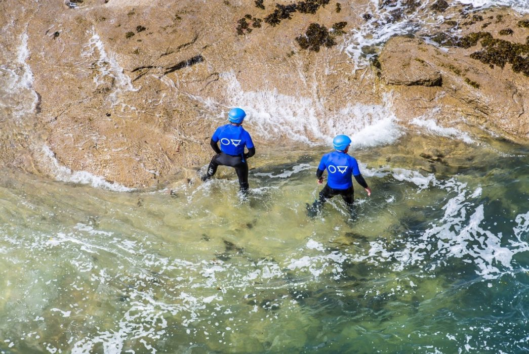 Coasteering in East Lothian by Dunbar and North berwick 1