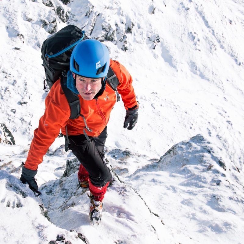 winter skills and mountaineering in Glen Coe Scotland 2