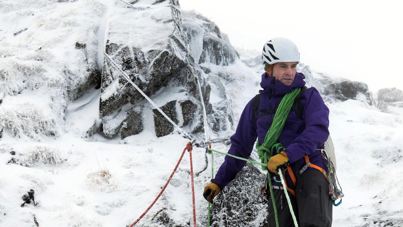 Andy Spink, Association of Mountaineering Instructors, Associate Instructor with Ocean Vertical in Glen Coe